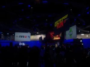 E3 2011, EA booth