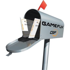Gamefly mailbox, games delivered