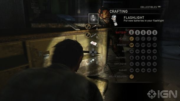The Last of Us, crafting weapons, Sac City Gamer