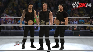 The Shield, WWE 2K14, Sac City Gamer