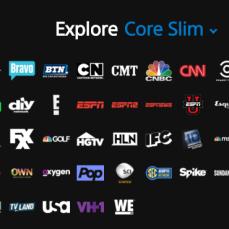 Core Slim ($34.99, 70+ channels)