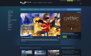 udemy-vs-steam-steam-homepage